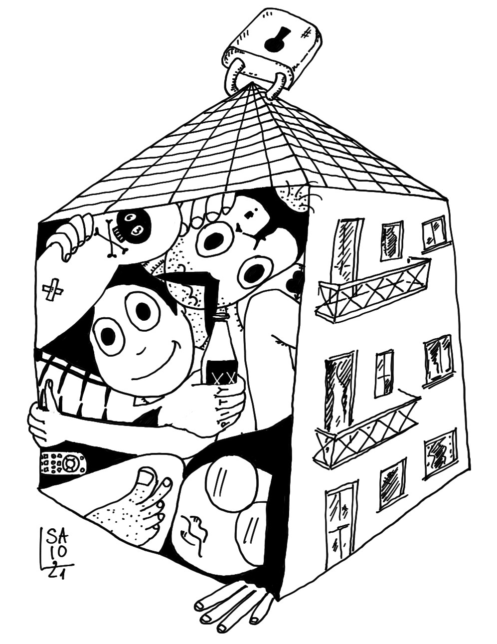 zona rossa 2021 casa